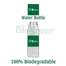 Biodegradable water bottles