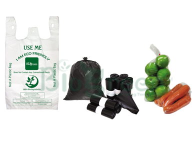 biogreen grocery rollbags